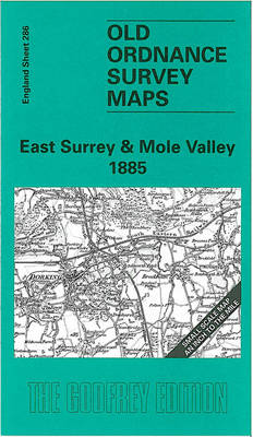 East Surrey and Mole Valley 1885: One Inch Map 286