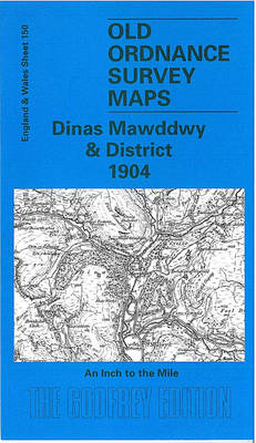 Dinas Mawddwy and District 1904: One Inch Map 150