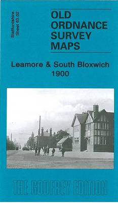 Leamore and South Bloxwich 1900: Staffordshire Sheet 63.02