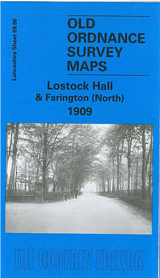 Lostock Hall and Farington (North) 1909: Lancashire Sheet 69.06