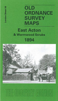 East Acton and Wormwood Scrubs 1894: London Sheet 058.2