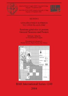 Le Paleolithique Superieur / The Upper Palaeolithic: Sessions generales et posters / General Sessions and Posters