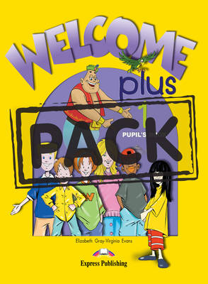 Welcome Plus: Level 1: Pupil's Book and Alphabet Book