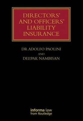 Directors' and Officers' Liability Insurance