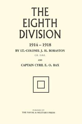 Eighth Division in War 1914-1918