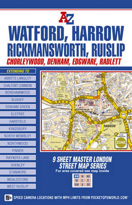 Master Map of North West London