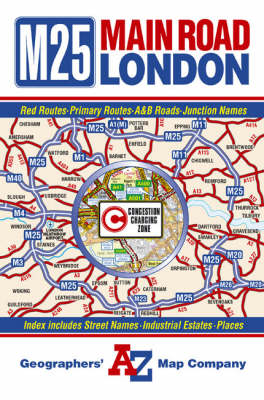 Main Road Map of London