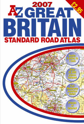 Great Britain Standard Road Atlas