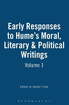 Early Responses to Hume: v.1 & 2: Moral, Literary and Political Writings
