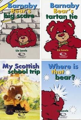 Little Book Sample Set: WITH Barnaby Bear's Big Scare AND Barnaby Bear's Tartan Tie AND My Scottish School Trip AND Where is the Bear?