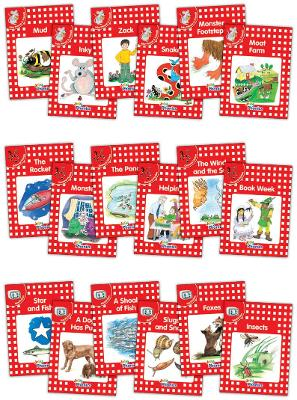 Jolly Phonics Readers, Complete Set Level 1: In Precursive Letters (British English edition)