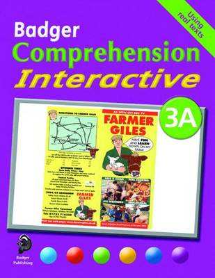 Badger Comprehension Interactive KS2: Pupil Book 3A