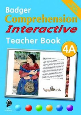 Badger Comprehension Interactive KS2: Teacher Book 4A