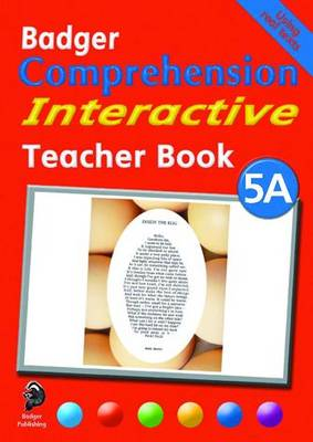Badger Comprehension Interactive KS2: Teacher Book 5A