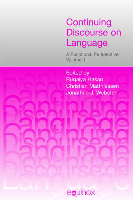 Continuing Discourse on Language: A Functional Perspective