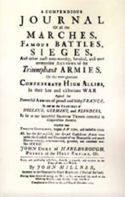 Compendious Journal of All the Marches Famous Battles & Sieges (of Marlborough): 2004