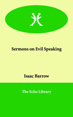 Sermons on Evil Speaking