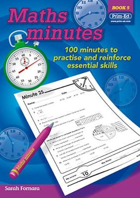 Maths Minutes: Book 5