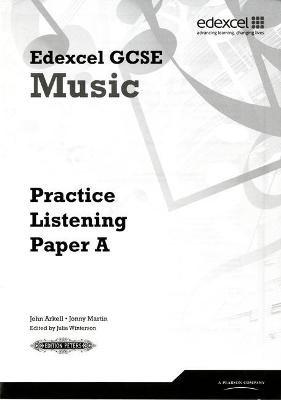 Edexcel GCSE Music Practice Listening Papers pack of 8 (A, B, C)
