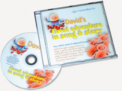 Great Adventure in Song & Story: A Personalised CD