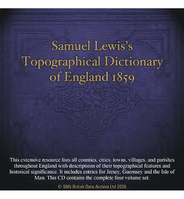 Samuel Lewis's Topographical Dictionary of England 1859