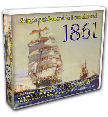 Shipping at Sea and in Ports Abroad 1861: Covers Piece Numbers RG9/4433-4540