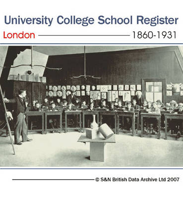 London, University College School Register 1860-1931: Entrance Lists for Boys at University College School, Gower Street from 1860 to 1931: Gives Name, Entrance and Leaving Dates, and Career Information (where Available). This Directory Also Includes List