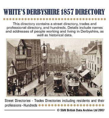 Derbyshire White's 1857 Directory
