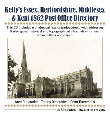 Essex, Herts, Middlesex, and Kent Post Office Directory 1862