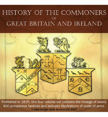 History of the Commoners of Great Britain and Ireland 1835