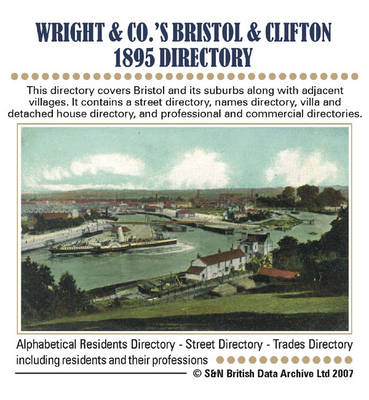 Gloucestershire, Wright's 1895 Bristol and Clifton Directory