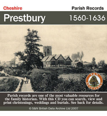 Cheshire, Prestbury Parish Registers 1560-1636