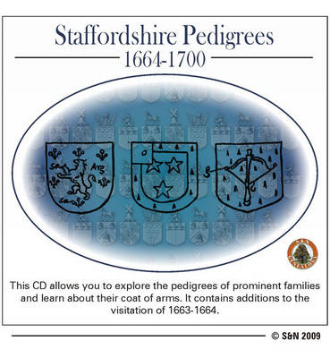 Staffordshire Pedigrees 1664-1700