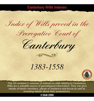 Canterbury Wills 1383-1558