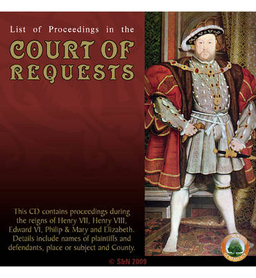 List of Proceedings in the Court of Requests
