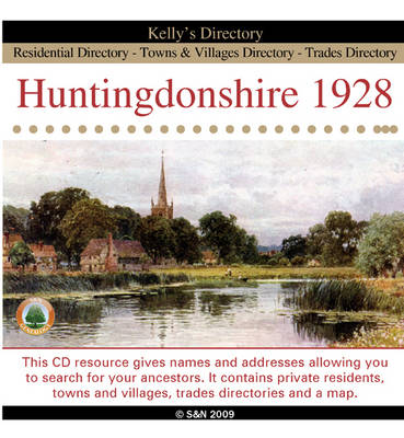 Huntingdonshire 1928 Kelly's Directory