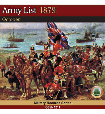 Army List 1879 - October