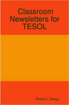 Classroom Newsletters for TESOL