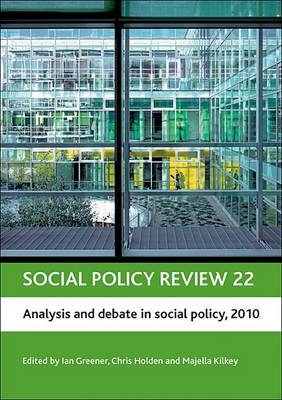 Social policy review 22: Analysis and debate in social policy, 2010
