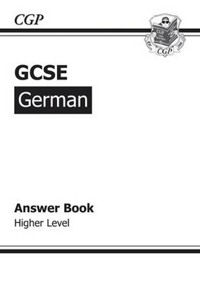 GCSE German Answers (for Workbook) Higher (A*-G Course) - answer key - answer key - answer key - answer key - answer key - answer key - answer key - answer key - answer key - answer key - answer key - answer key - answer key - answer key - answer key - answer key - answer key - answer key - answer