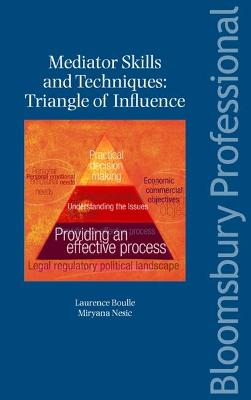 Mediator Skills and Techniques: Triangle of Influence