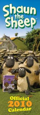 "Official ""Shaun the Sheep"" 2010 Slim Calendar"