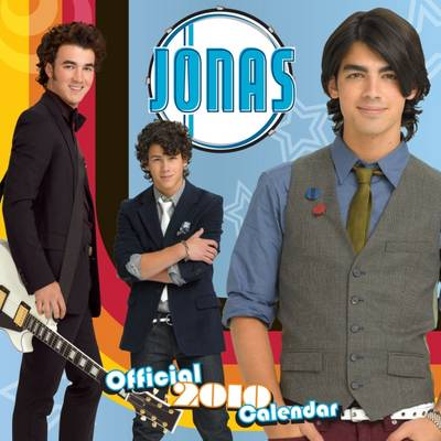 "Official ""Jonas"" 2010 Calendar"