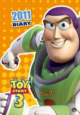 Official Toy Story A6 2011 Diary