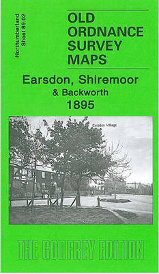 Earsdon, Shiremoor and Backworth 1895: Northumberland Sheet 89.02