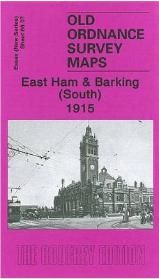 East Ham and Barking (South) 1915: Essex Sheet 86.07