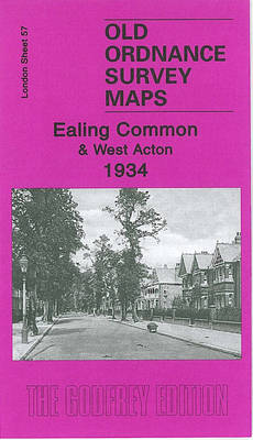 Ealing Common and West Acton 1934: London Sheet  57.4