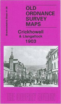 Crickhowell and Llangattock 1903: Brecknockshire Sheet 41.08