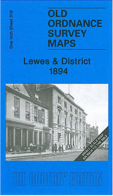 Lewes & District 1894: One Inch Sheet 319