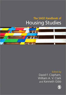 The SAGE Handbook of Housing Studies